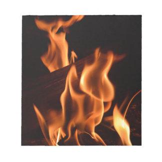 Fire Notepad