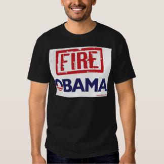 Fire Obama Tee Shirt