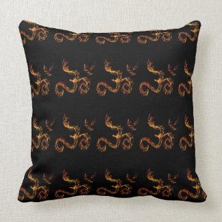Fire Om Pillow