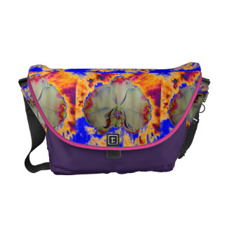 Fire Orchid -blue Commuter Bags