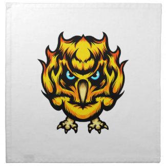 Fire Owl Napkin