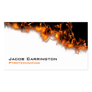 Fire! Pack Of Standard Business Cards