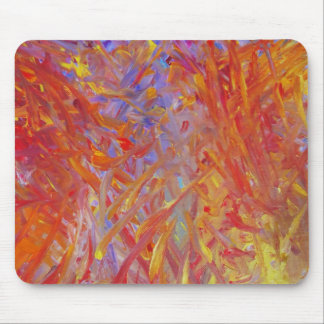 Fire Painted Mousepad