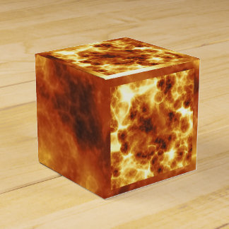 Fire Pattern Favor Box Wedding Favour Box