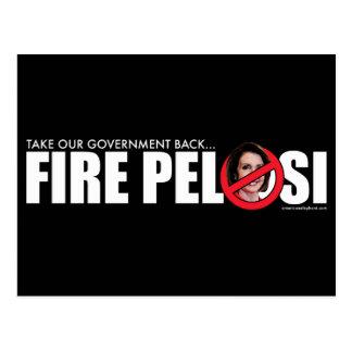 Fire Pelosi Postcard