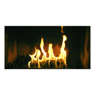 Fire Personalized Photo Card