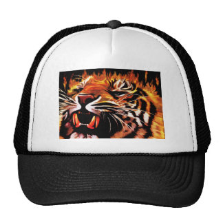 Fire Power Tiger Hat