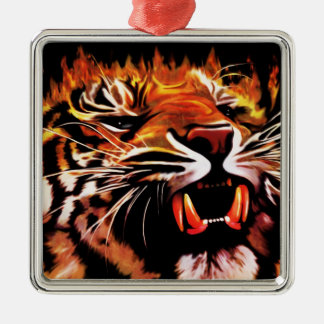Fire Power Tiger Ornament