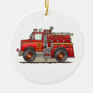 Fire Pumper Rescue Truck Ornament