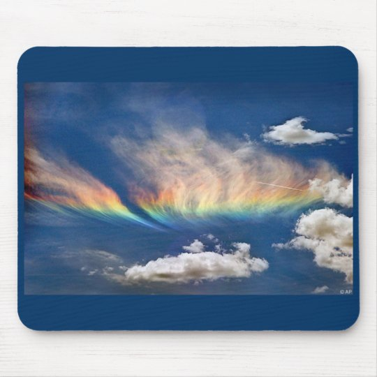 Fire Rainbow Mousepad