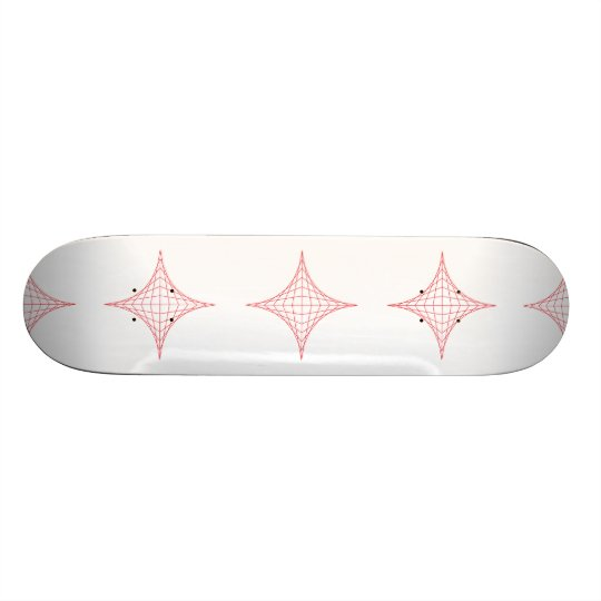 Fire (red) skate board deck