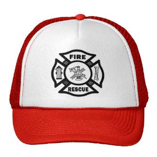 Fire Rescue Trucker Hat