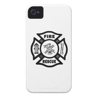 Fire Rescue iPhone 4 Cover