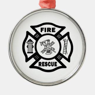 Fire Rescue Christmas Ornament