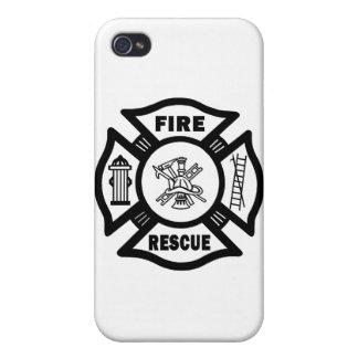 Fire Rescue iPhone 4 Case