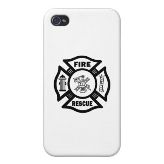 Fire Rescue iPhone 4/4S Covers