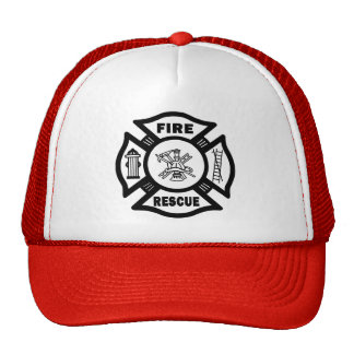 Fire Rescue Mesh Hats