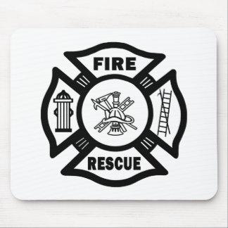 Fire Rescue Mouse Mat