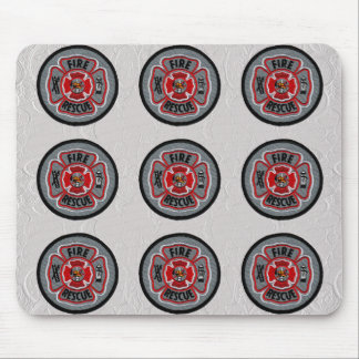 Fire & Rescue Mouse Pad