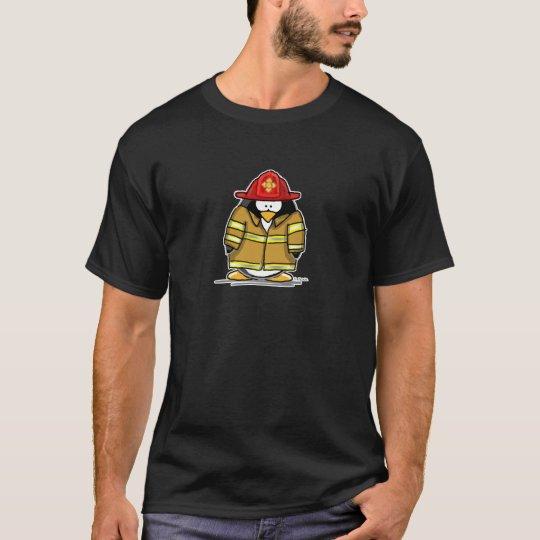 Fire Rescue Penguin T-Shirt