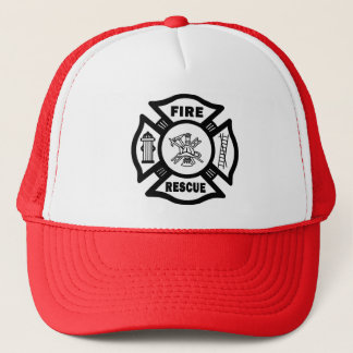 Fire Rescue Trucker Hat
