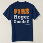 Fire Roger Goodell t-shirt Dark Style