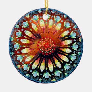 Fire Rose ornament