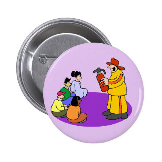 Fire safety button