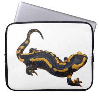Fire Salamander Laptop Sleeve