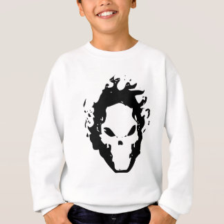 FIRE SCULL SWEATSHIRT