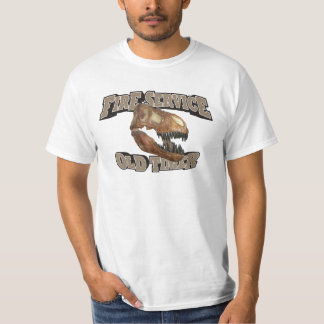 Fire Service Old Timer! Tshirts