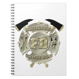 Fire services notebook.... spiral notebook