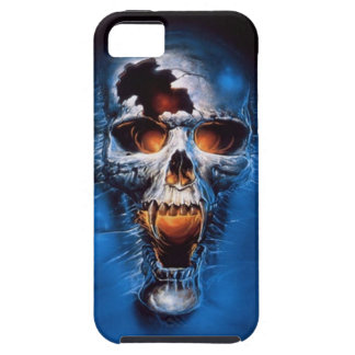 Fire skull iPhone 5 case