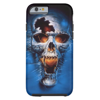 Fire skull iPhone 6 case