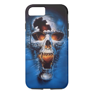 Fire skull iPhone 7 case
