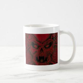 Fire Skull Coffee Mugs