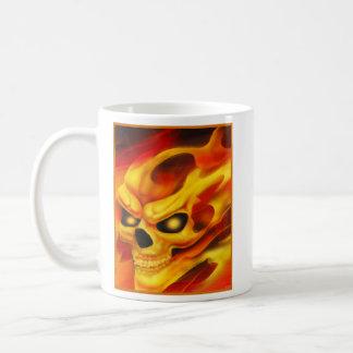 Fire Skull Mug