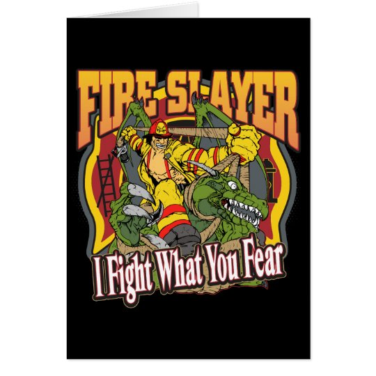 Fire Slayer Firefighter Card