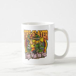 Fire Slayer Firefighter Coffee Mug