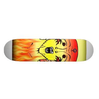 Fire Soul Custom Skateboard