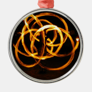 Fire Spinning - Celtic Knot Christmas Ornament