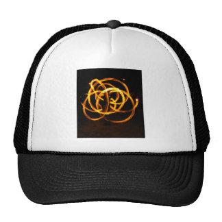 Fire Spinning - Celtic Knot Trucker Hats
