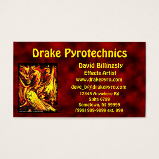 Fire Spirit Business Card