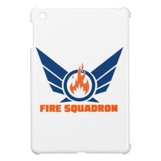 Fire Squadron Logo Gear iPad Mini Covers