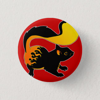 Fire Squirrel Button