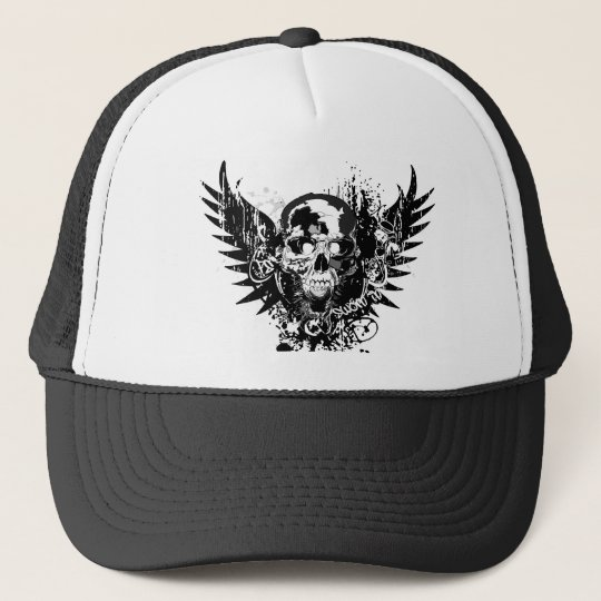 "Fire Star ""Sworn In"" black and white Trucker"