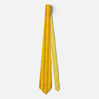 Fire Storm Yellow Tie