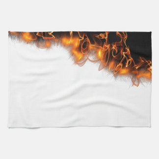 Fire! Tea Towel