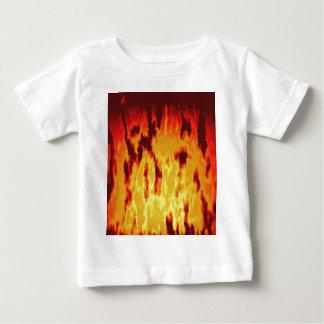 Fire texture baby T-Shirt