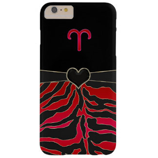 Fire Tiger Zodiac Sign Aries Barely There iPhone 6 Plus Case